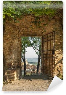 Vinylová Fototapeta Gate v San Gimignano