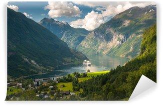 Vinylová Fototapeta Geiranger fjord, Norsko