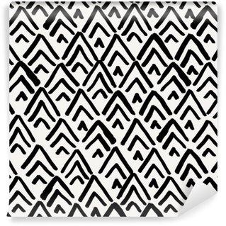 Vinylová Fototapeta Geometrické bezešvé vzor