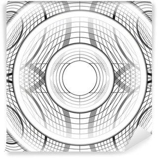 Fototapeta Winylowa Geometryczne koło