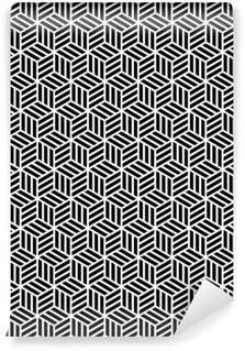 Fototapeta Winylowa Geometrycznych powtarzalne tekstury w projektowaniu op art.