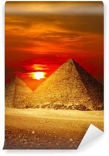 Vinylová Fototapeta Giza údolí