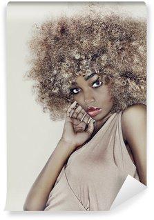 Vinylová Fototapeta Glamour Hair Model