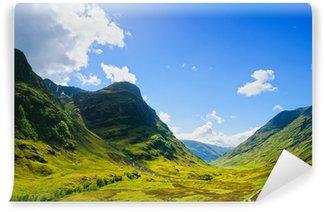 Vinylová Fototapeta Glencoe horské krajiny v Lochaber, skotské Higlands, scotl