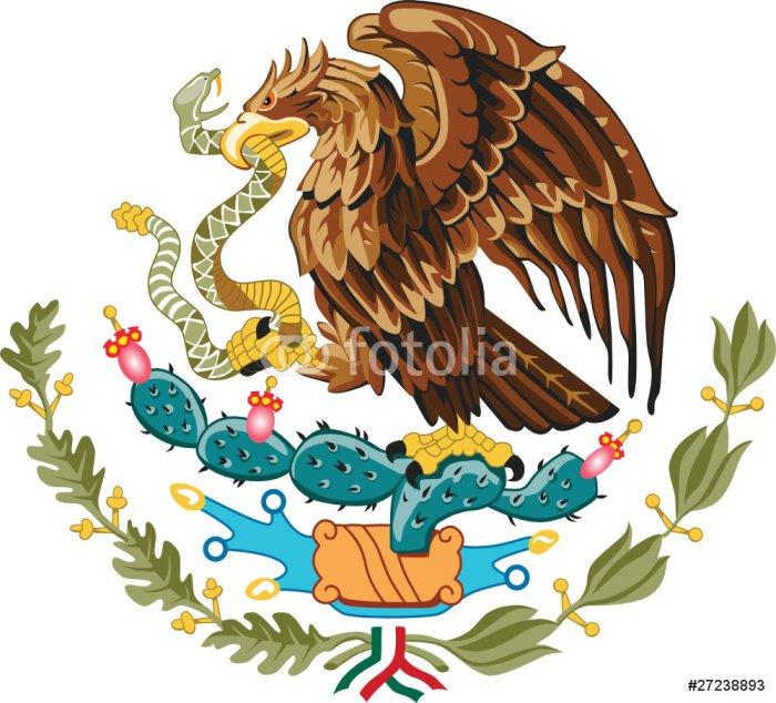 Fototapeta Vinylowa Godło Meksyku - Naklejki na ścianę
