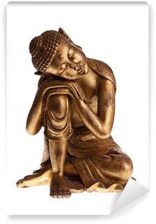 Vinylová Fototapeta Golden Buddha izolované