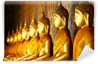 Vinylová Fototapeta Golden buddha v chrámu