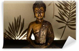 Vinylová Fototapeta Golden Buddha