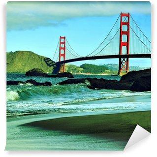 Vinylová Fototapeta Golden Gate Bridge, San Francisco, Spojené státy americké