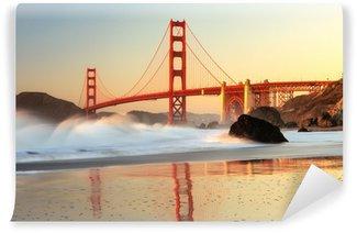 Vinylová Fototapeta Golden Gate Bridge San Francisco