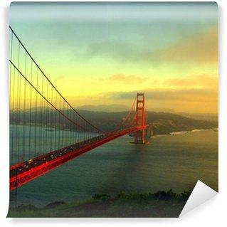 Vinylová Fototapeta Golden gate bridge