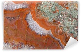 Vinylová Fototapeta Golden rozmanité achát minerální povrch