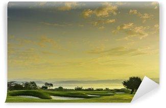Vinylová Fototapeta Golf Greens