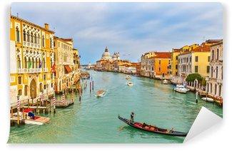 Vinylová Fototapeta Gondola na Grand Canal