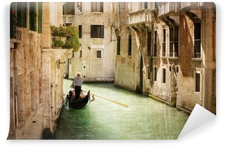 Vinylová Fototapeta Gondola na kanálu v Benátkách