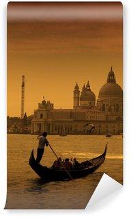 Vinylová Fototapeta Gondolier v Benátky, Itálie