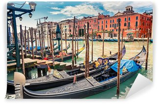 Vinylová Fototapeta Gondoly na Canal Grande v Benátkách