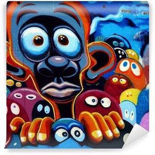 Vinylová Fototapeta Graffiti, barcelone