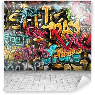 Fototapeta Vinylowa Graffiti na ścianie