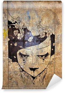 Vinylová Fototapeta Graffiti - street art