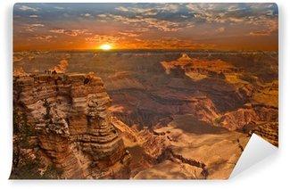 Vinylová Fototapeta Grand Canyon Sunset