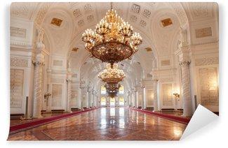 Vinylová Fototapeta Grand Kremlin Palace, Georgievsky sál