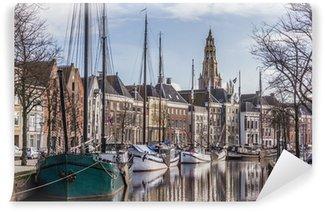 Vinylová Fototapeta Groningen Hoge der Aa