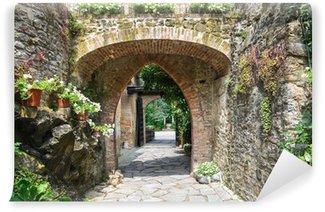 Vinylová Fototapeta Gropparello hradu. Emilia-Romagna. Itálie.