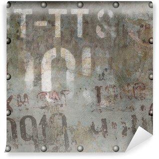 Vinylová Fototapeta Grunge kovové pozadí