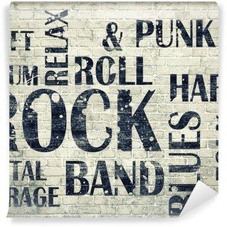 Vinylová Fototapeta Grunge roomGrunge skála poster
