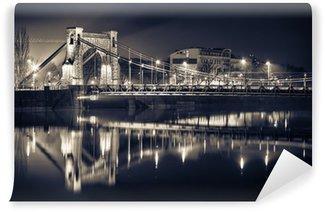 Vinylová Fototapeta Grunwald Bridge ve Wroclawi
