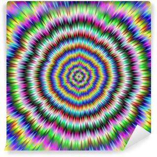 Fototapeta Winylowa Grzebanie psychedelic oko