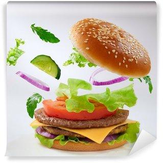 Vinylová Fototapeta Hamburger