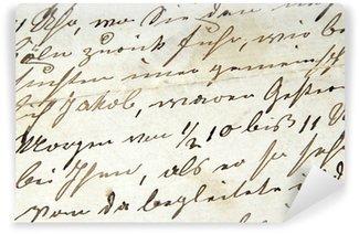Vinylová Fototapeta Handschrift