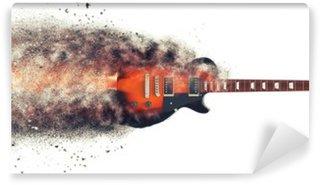 Vinylová Fototapeta Hard Rock kytara - Particle FX
