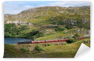 Vinylová Fototapeta Harry Potter parní vlak