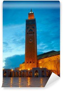 Vinylová Fototapeta Hassan II mešita v Casablanca, Maroko Africe