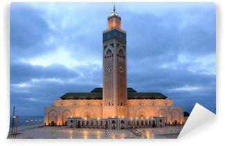 Vinylová Fototapeta Hassan II mešita v Casablanca, Maroko, severní Afriky