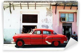 Vinylová Fototapeta Havana auto