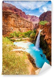Vinylová Fototapeta Havasu Falls, Havasupai, Grand Canyon