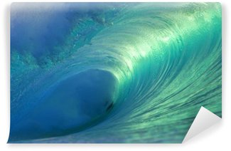 Vinylová Fototapeta Hawaii Pipeline Wave Empty 4