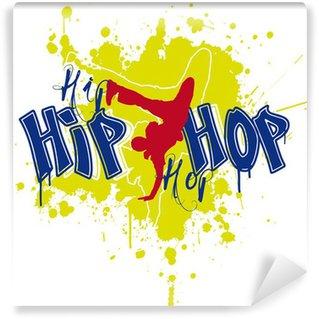 Vinylová Fototapeta Hip hop tanečnice