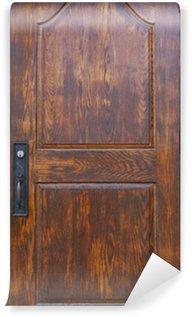 Vinylová Fototapeta Historické dřevěné dveře