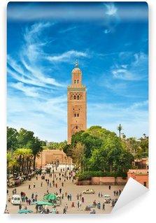 Vinylová Fototapeta Hlavní náměstí v Marrákeši ve staré Medina. Maroko.