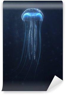 Vinylová Fototapeta Hluboké moře medúzy