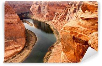 Vinylová Fototapeta Hluboký kaňon řeky Colorado Desert Southwest přírodní scenérie Pozemky