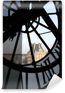 Vinylová Fototapeta Hodiny na muzeum Orsay