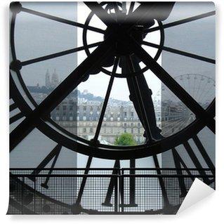 Vinylová Fototapeta Hodiny v Museu d'Orsay