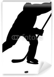 Vinylová Fototapeta Hokejista