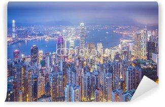 Vinylová Fototapeta Hong Kong, China City Skyline